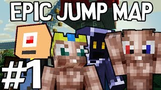 Minecraft - Epic Jump Map met Ronald, Milan, Pieter en Don #1