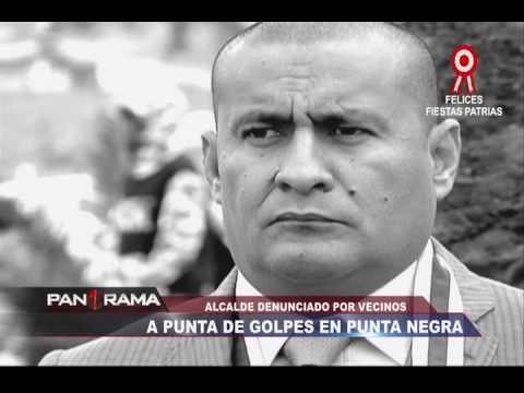 Punta Negra: vecinos denuncian que alcalde los ataca a golpes