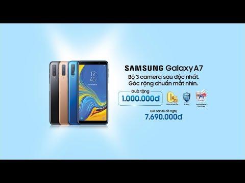 Galaxy A7 | Đ?t hang tru?c nh?t qua 1 tri?u_Legjobb videók: Tech