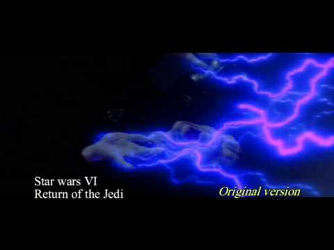 "(comparative) Darth Vader Screams ""Noooo"" In Blu-Ray, Star Wars Episode VI Return Of The Jedi"