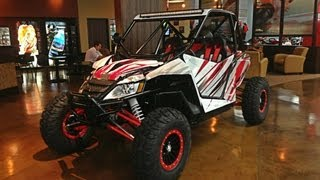 "6. 2013 Arctic Cat Wildcat X ""Savage""