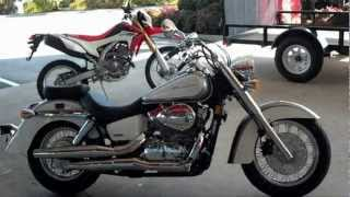 6. 2013 Honda Shadow Aero 750 SALE - VT750CA Walk Around Video at Honda of Chattanooga TN