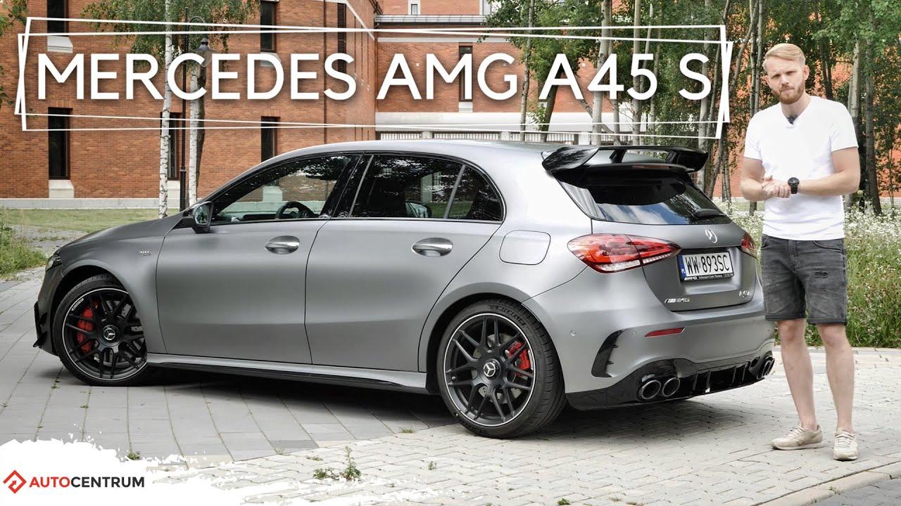Mercedes AMG A45 S 4Matic+ - jak się nie skupisz, możesz zrobić sobie krzywdę | Test motoryzacyjny