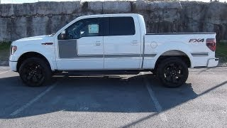 2013 FORD F-150 FX4 APPEARANCE PACKAGE 5.0 WHITE 402A AT FORD OF MURFREESBORO 888-439-1265