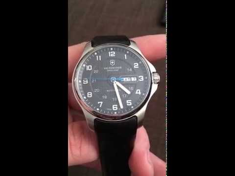 Victorinox Officer´s Mechanical Watch Overview