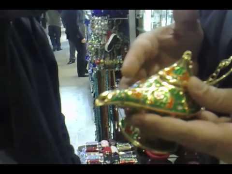 Cardinot procura uma Lâmpada Mágica, que tenha Gênio, dentro do Grand Bazaar
