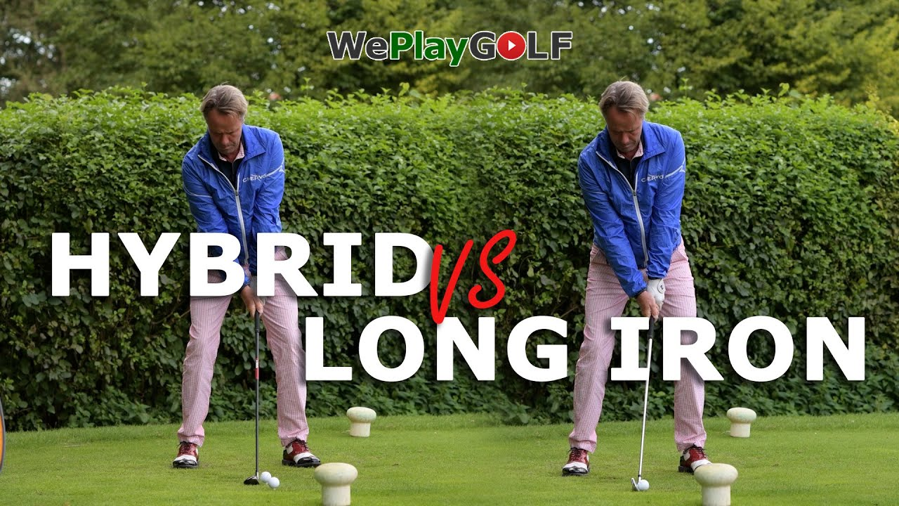 Difference between a LONG IRON and a HYBRID golf swing