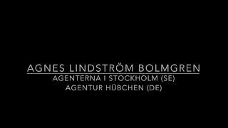 Showreel 2017 Agnes Lindström Bolmgren