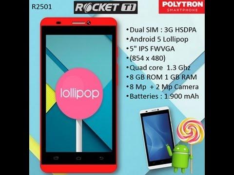 unboxing Polytron R2501 - Rocket T1