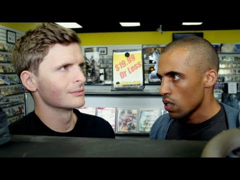 bf3 - Aaron meets his replacement at Next Gen... Directed By: Jason Schnell Written By: Lindsey Reckis Produced By: Eric Pumphrey Starring: Eric Pumphrey Lynsey Ba...