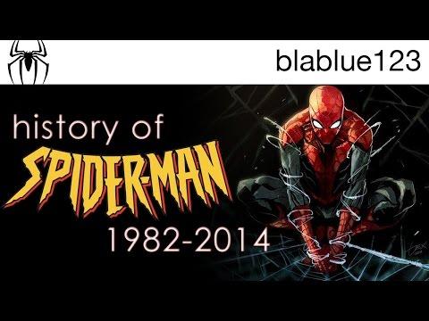 History of - Spider-Man (1982-2014)   blablue123