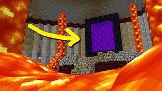 MYSTERIOUS HIDDEN BUILDS! (Minecraft BETA)