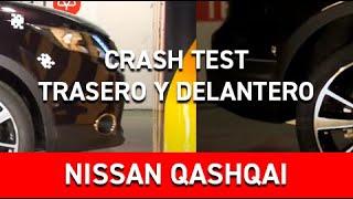 Crash test frontal y trasero del Nissan Qashqai en Cesvimap