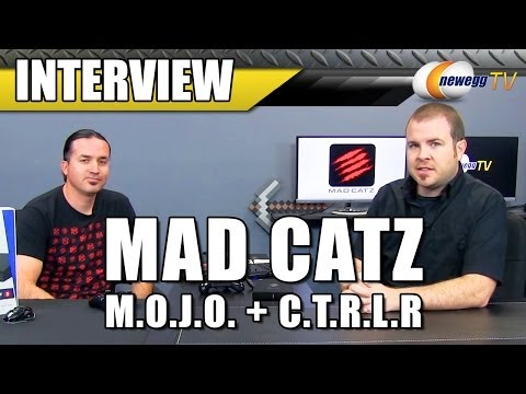 tv - http://www.newegg.com | MOJO: http://bit.ly/1kx9Lx4 68-165-001 Dalin from MadCatz stopped by to demo their new M.O.J.O. Android Micro-Console & C.T.R.L.R Gam...
