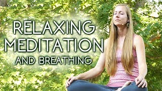 Way Less Holiday STRESS! Quick Meditation with Meera ♥ Breathing Exercises for Anxiety, Relaxing