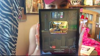 100K PLAQUE!! by Silenced Hippie