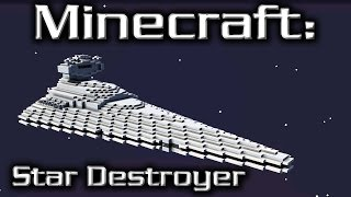 Minecraft: Star Wars: Star Destroyer Tutorial (Imperial I-Class 1/20th Scale)