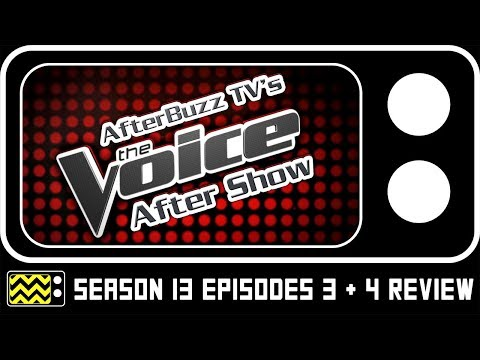 The Voice Season 13 Episodes 3 & 4 Review & After Show | AfterBuzz TV