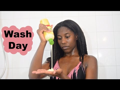 Download Wash Day Ft. ORS | What's A Hair Wall?? | Texlaxed Hair | Relaxed Hair HD Mp4 3GP Video and MP3
