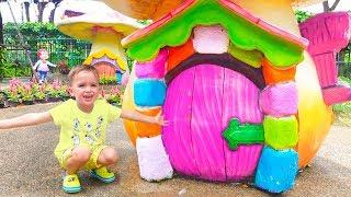 Amusement park in Bangkok Playtime with Vlad and Nikita