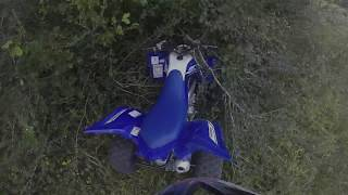 10. 2018 Yamaha Raptor 700R Crash