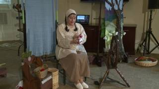 Julia Tasheva spun a tale about welcoming the coming of Spring with two of Bulgaria's most famous characters, Pizho and Penda...
