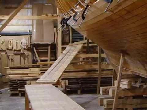 В Самаре энтузиасты строят деревянную шхуну