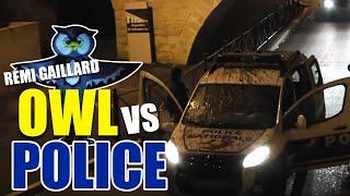 Na*rać na radiowóz! Kozacka akcja z policją pod wiaduktem