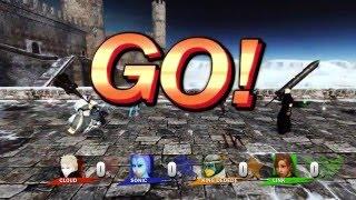 Super Smash Bros in Dark Souls 2