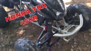 4. 2005 Honda TRX 450r -Review