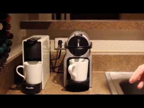 Nespresso Inissia and Nespresso Essenza Mini comparative review!!