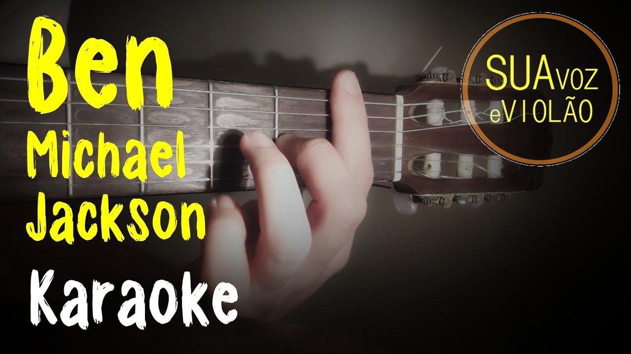 Ben – Michael Jackson – Karaoke – Acoustic guitar