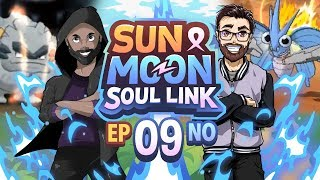 Pokémon Sun & Moon Soul Link Randomized Nuzlocke w/ Nappy + Shady - Ep 9