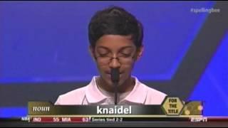 knaidel, 13-Year-Old Spells 'Knaidel,' Wins Spelling Bee