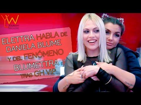 ¿Cómo es la relación de Elettra y Daniela Blume tras su paso por GH VIP? (видео)