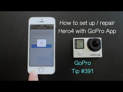 How To Set Up Hero4 With GoPro App - GoPro Tip #391