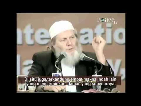 Islam Vs Terorisme - Yusuf Estes 1