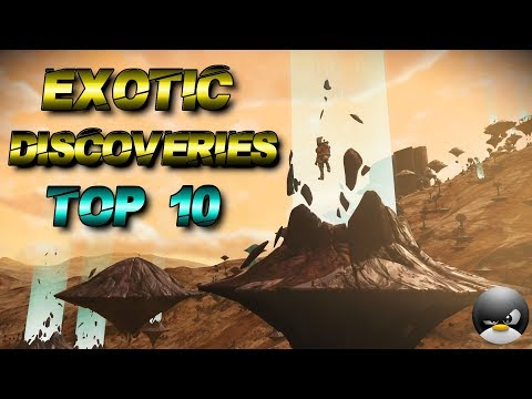 My TOP 10 Exotic Discoveries! - No Man's Sky [ NMSN Tips and Tricks ]