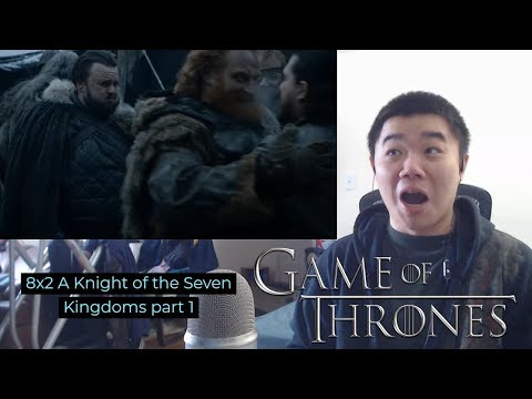 Game of Thrones Season 8 Episode 2: A Knight of the Seven Kingdoms- Reaction Part 1!