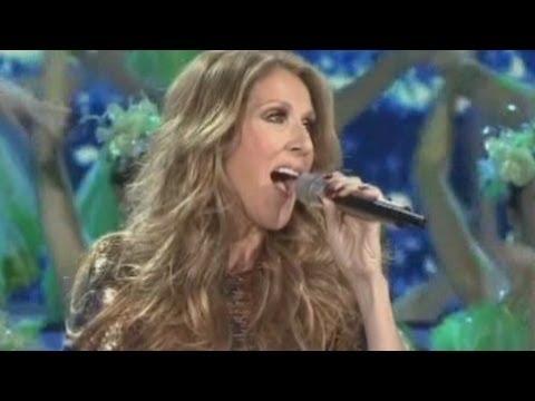 Image of Celine Dion leads China's New Year gala in Beijing 2013... in flawless Chinese