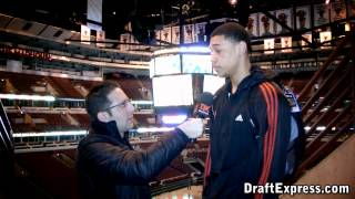 Brandon Ashley - 2012 McDonald's All-American Game Interview & Practice Highlights