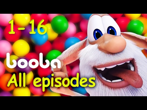 ⭐Booba - All Episodes Compilation (16 -1) Funny cartoons for kids буба 2017 KEDOO animation for kids