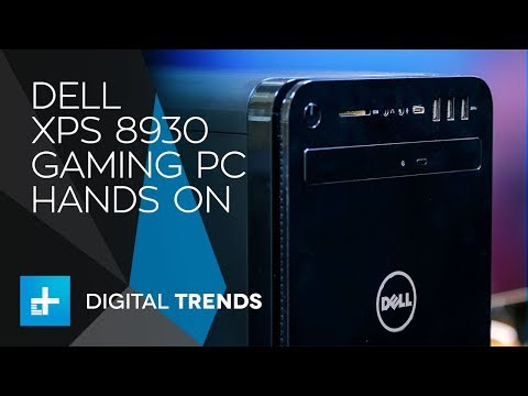 Dell XPS 8930 Gaming PC - Hands On Review