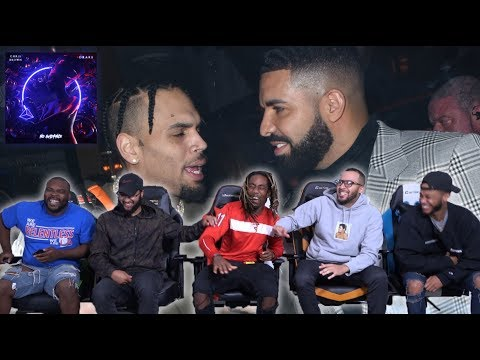 Chris Brown Ft. Drake - No Guidance REACTION/REVIEW