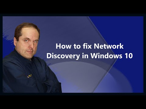 How to fix Network Discovery in Windows 10