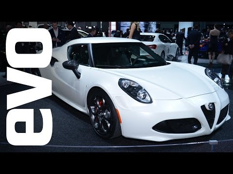 NEW - Nick Trott takes a look at the new Alfa Romeo 4C at the New York Auto show. Subscribe to the evo channel for more videos: http://bit.ly/1eQdsz0 Where else to find evo? WEBSITE: http://bit.ly/1kpK...
