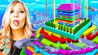 NEVER Break Into My Wife's IMPOSSIBLE Underwater Minecraft House...