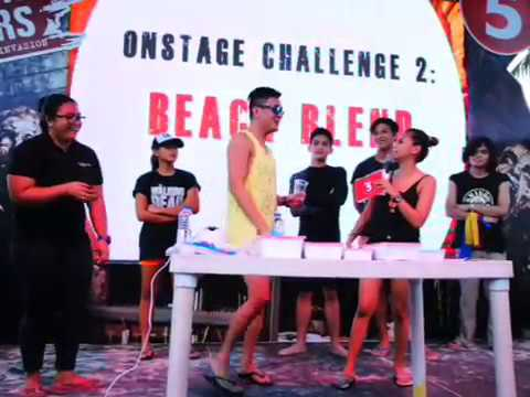 #TV5TWDInvasion #WalkersInvadeBoracay Beach Blend Challenge With Rizza Diaz