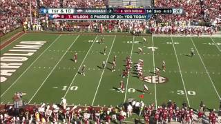 Tyler Wilson vs South Carolina (201
