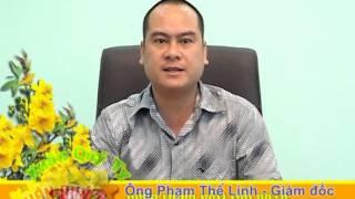 Chăn drap gối nệm Thế Linh (Lãnh đạo công ty chúc mừng năm mới 2013)